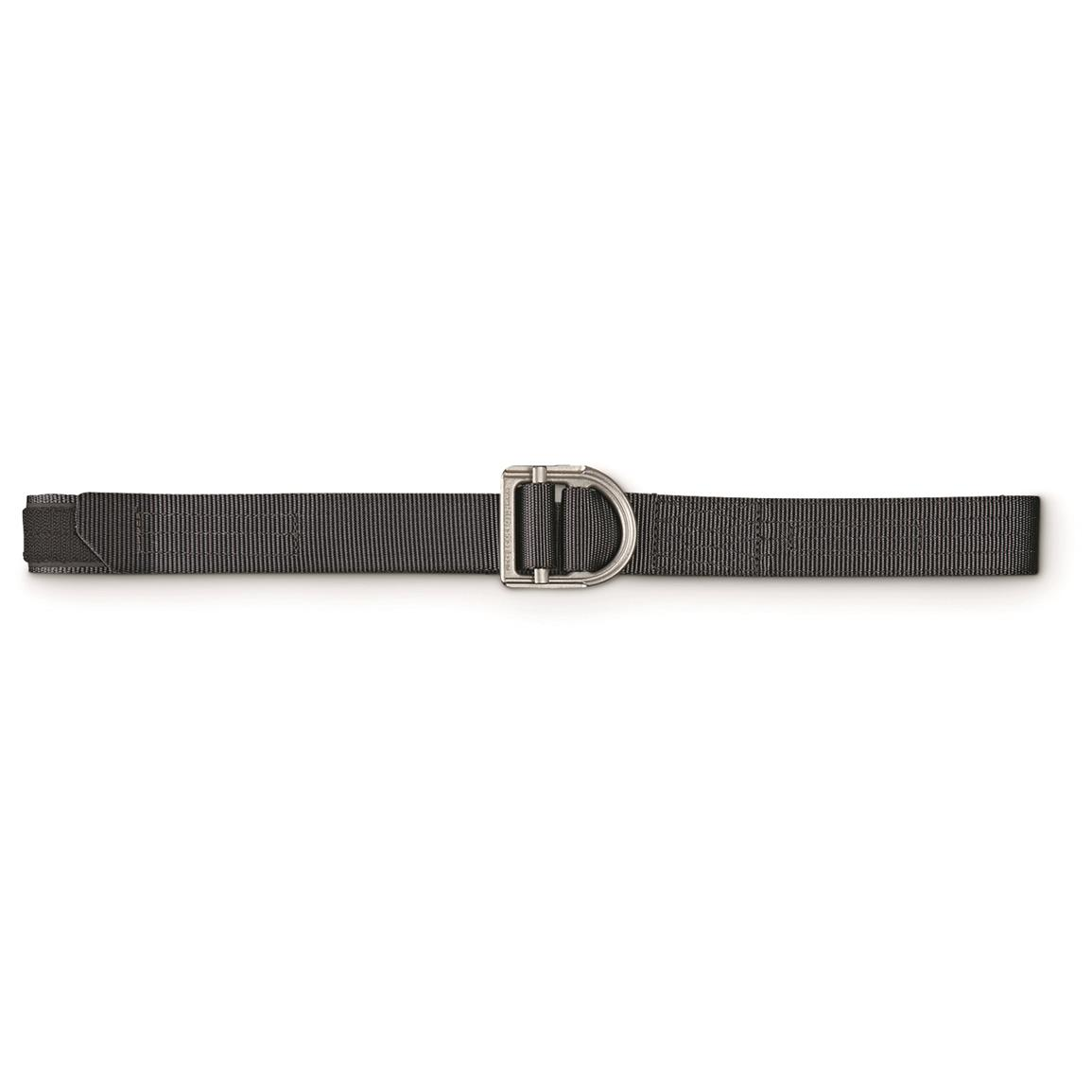"5.11 Tactical 1 1/2"" Wide Trainer Belt, Charcoal"