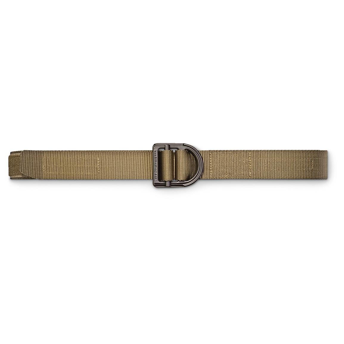 "5.11 Tactical 1 1/2"" Wide Trainer Belt, TDU Green"