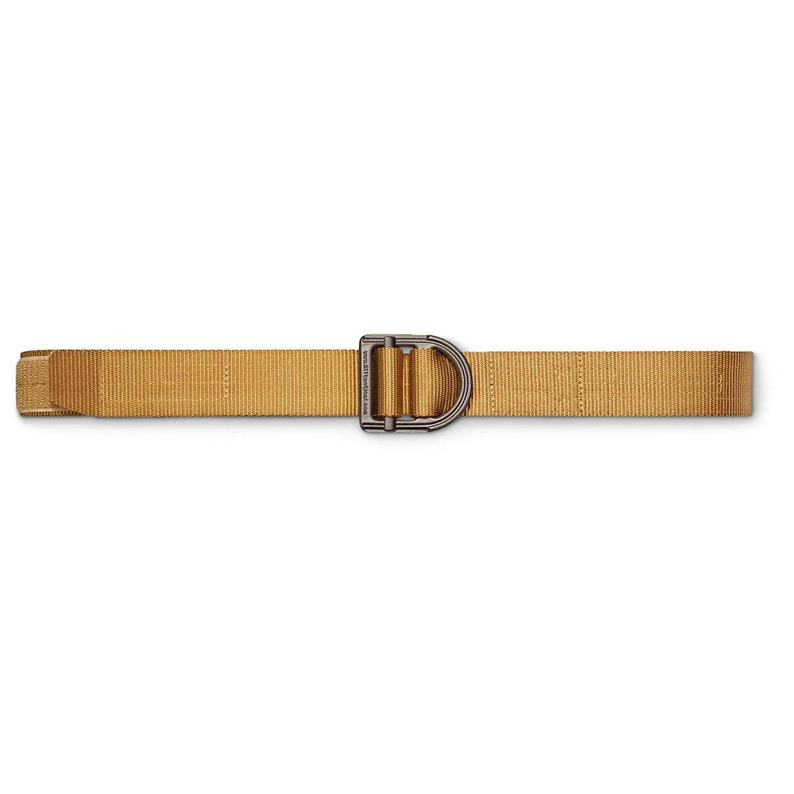 "5.11 Tactical 1 1/2"" Wide Trainer Belt, Coyote Brown"