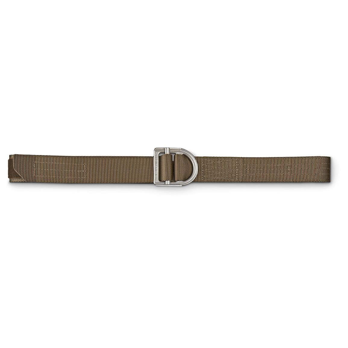 "5.11 Tactical 1 1/2"" Wide Trainer Belt, Tundra"