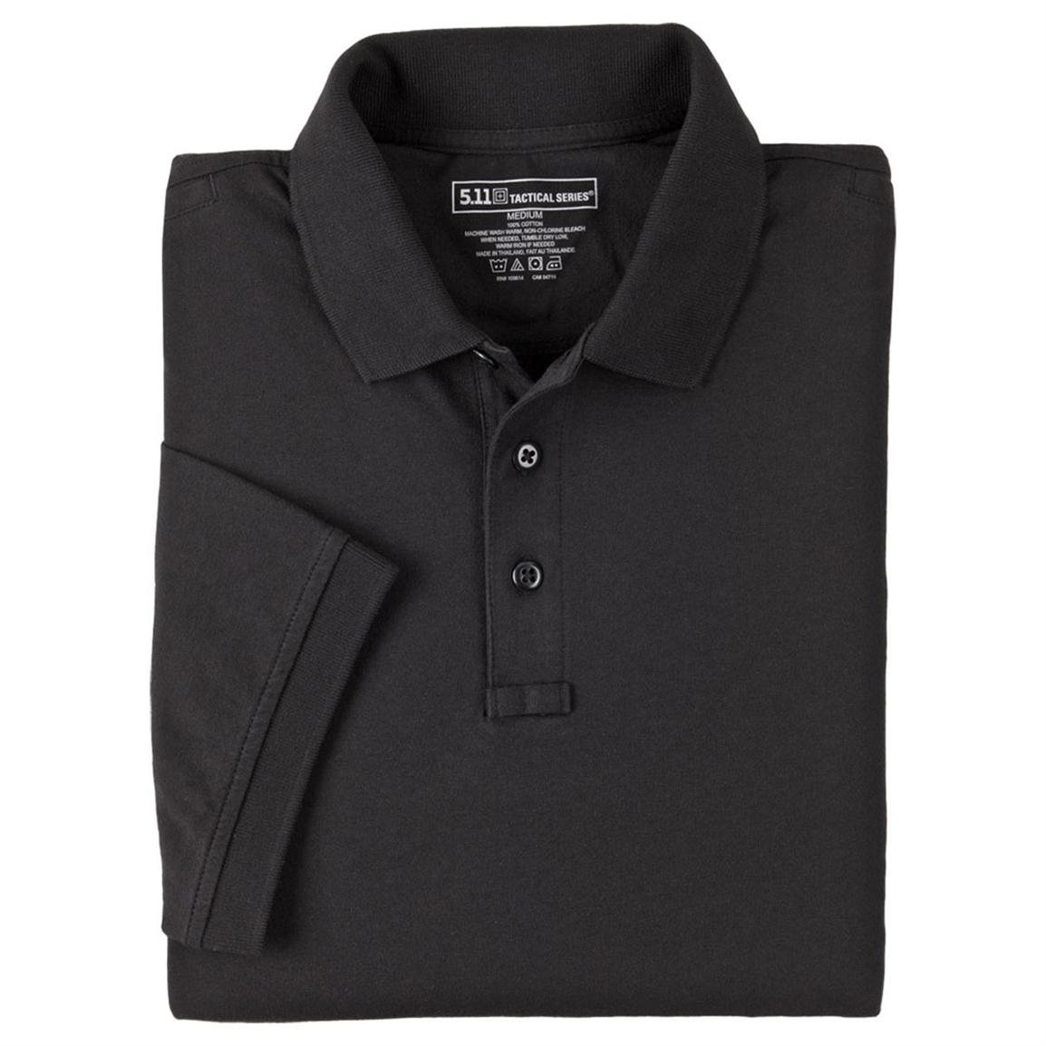 Tactical Jersey Polo from 5.11 Tactical, Black
