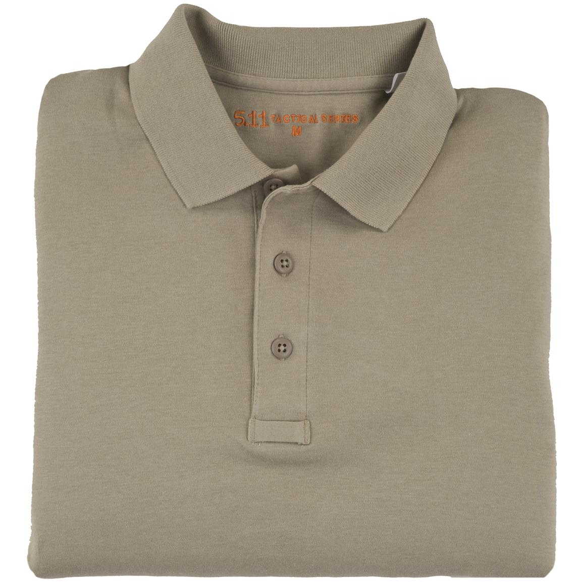 Tactical Jersey Polo from 5.11 Tactical, Silver Tan