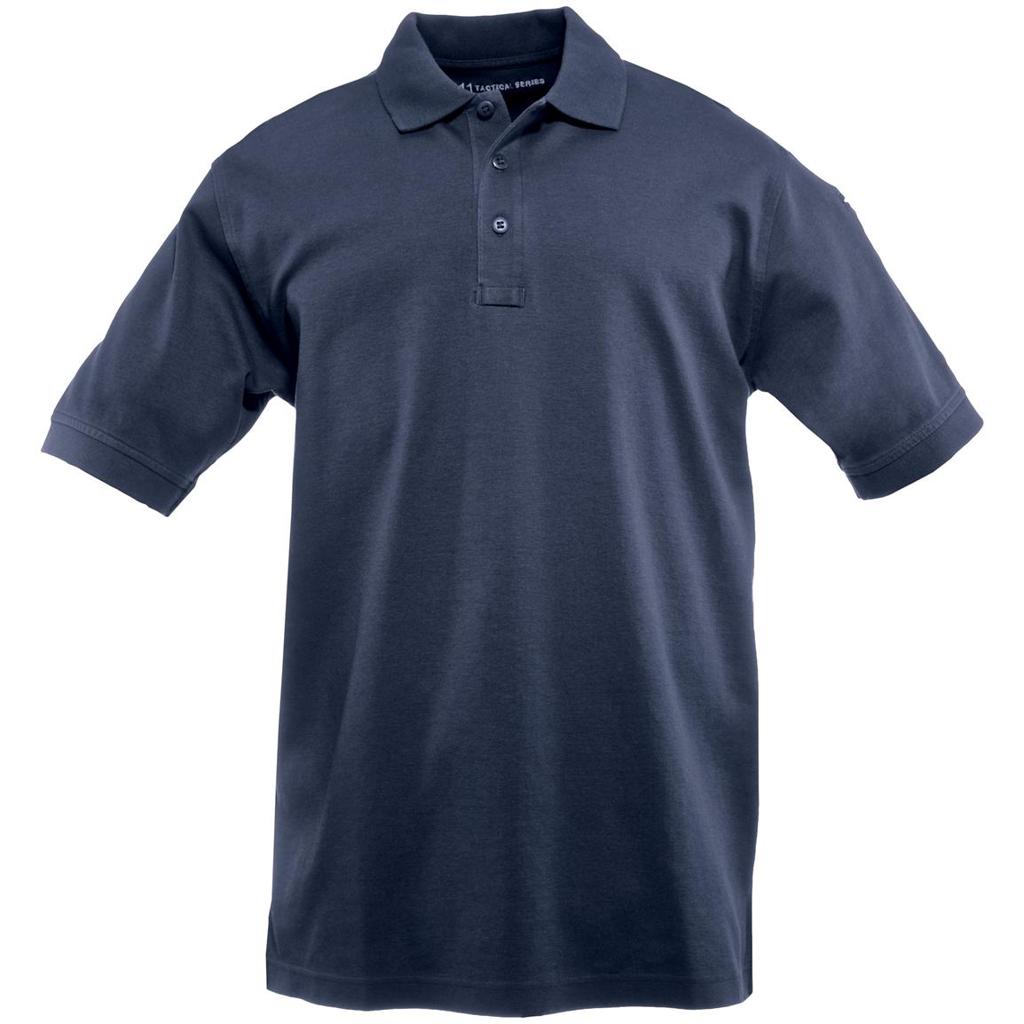 Tactical Jersey Polo from 5.11 Tactical, Dark Navy
