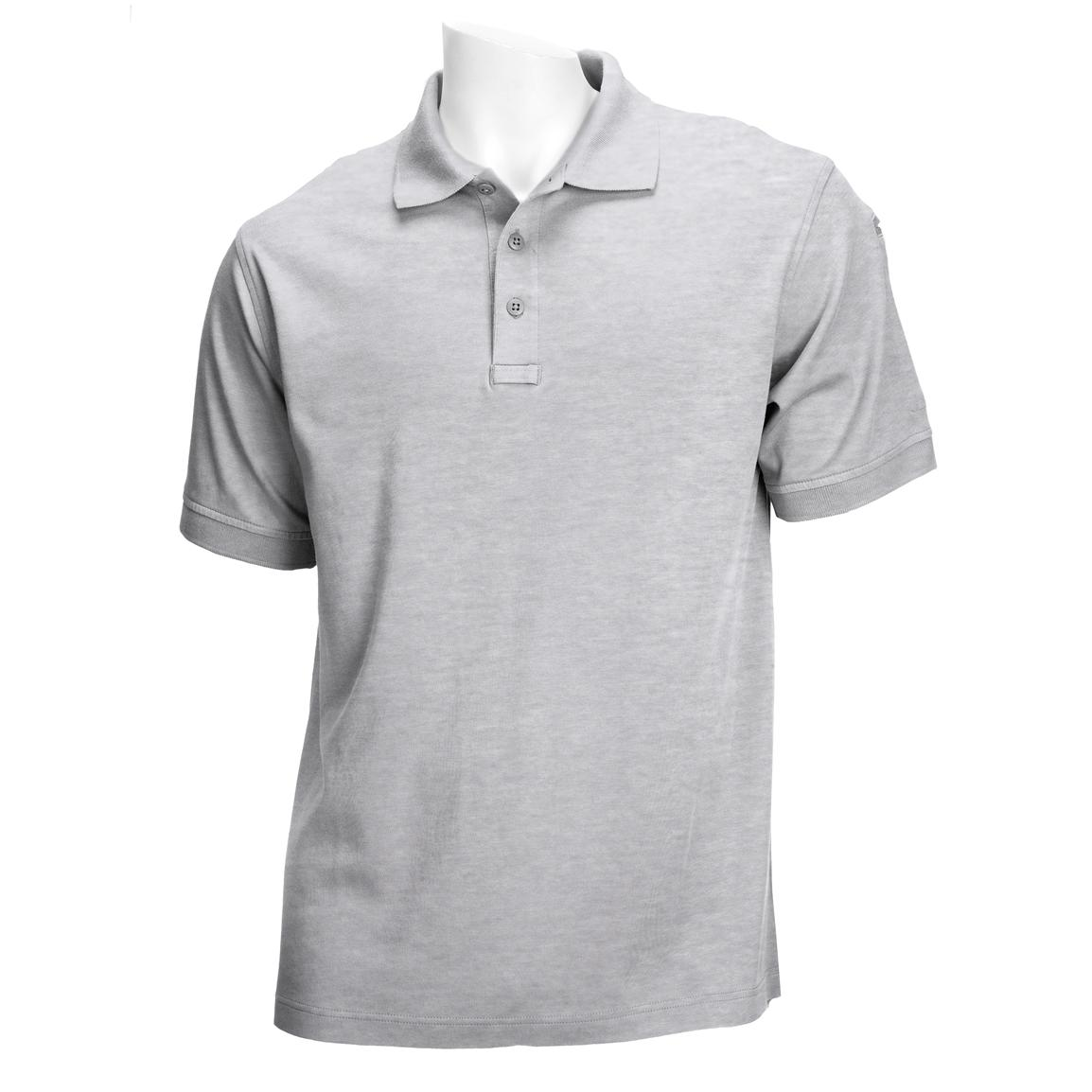 Tactical Jersey Polo from 5.11 Tactical, Heather Grey