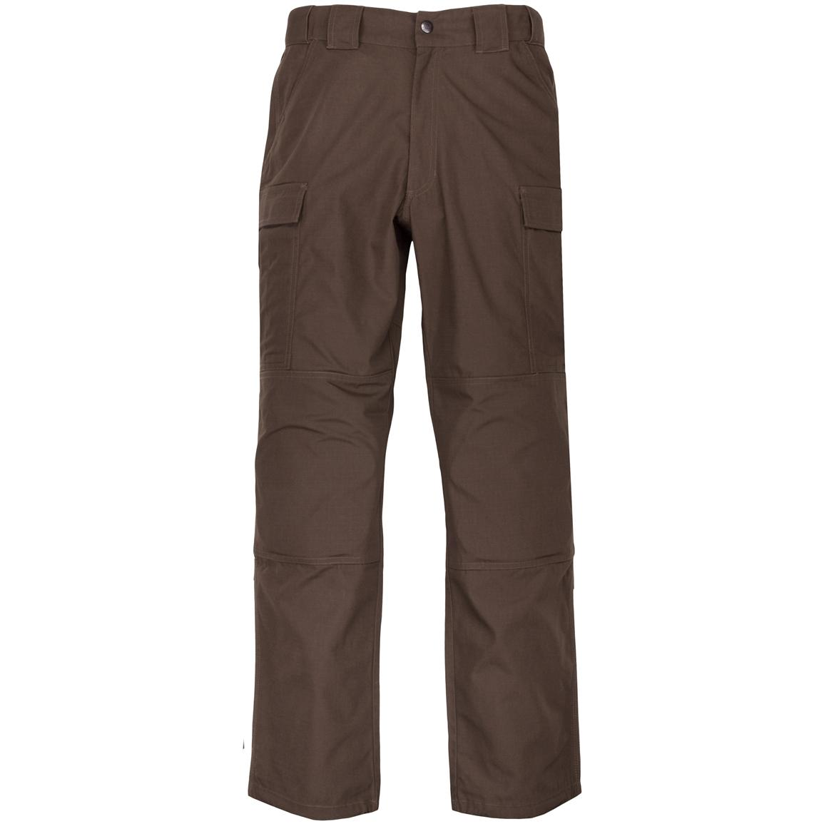 Men's 5.11 Tactical® Ripstop TDU® Pants, Brown