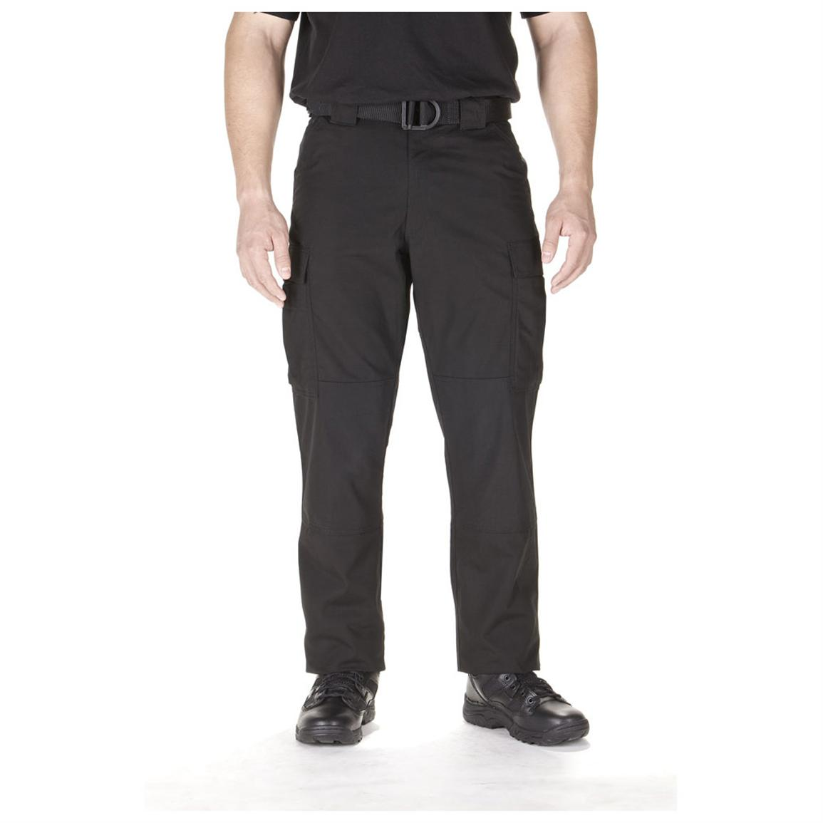 Men's 5.11 Tactical® Twill TDU® Pants, Black