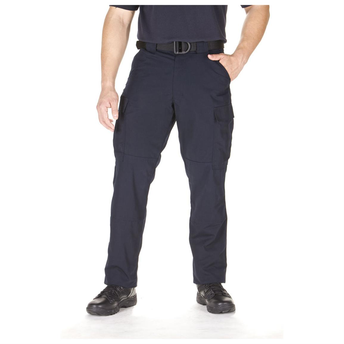 Men's 5.11 Tactical® Twill TDU® Pants, Dark Navy