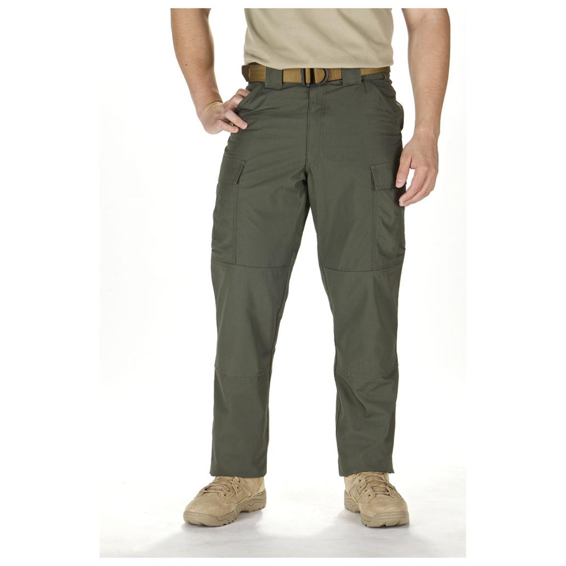 Men's 5.11 Tactical® Twill TDU® Pants, TDU Green