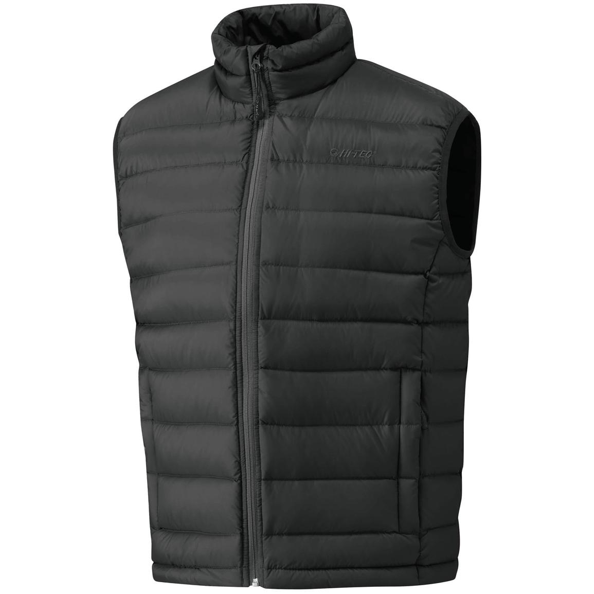 Men's Hi-Tec® Eagle Mountain Down Vest, Black