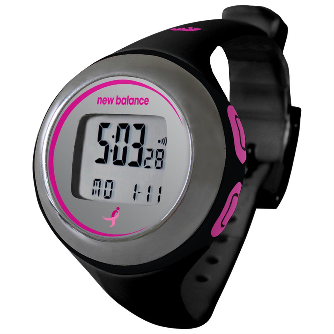 New Balance® HRT Komen Fitness Watch with Heart Rate Monitor
