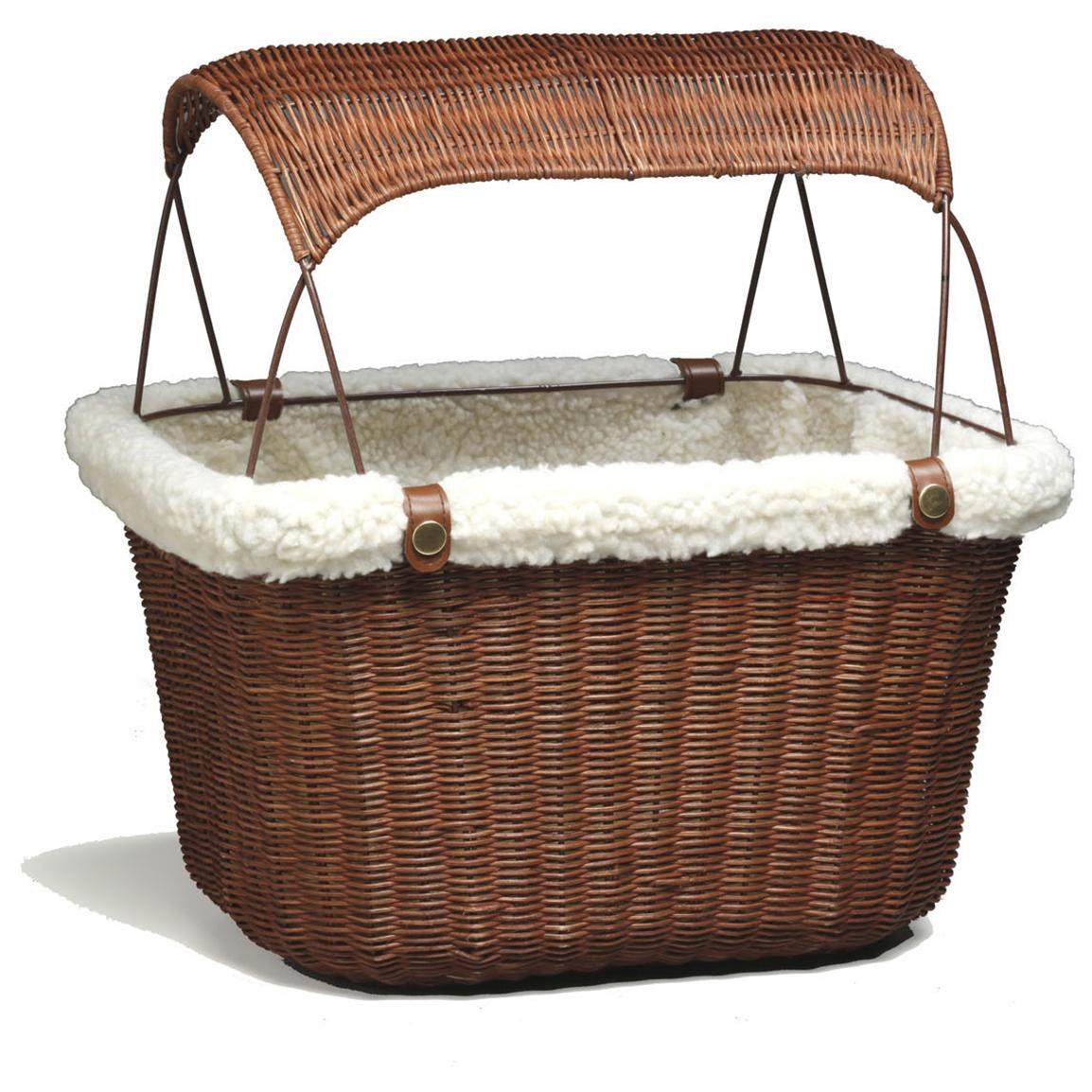 Tagalong™ Wicker Bicycle Basket