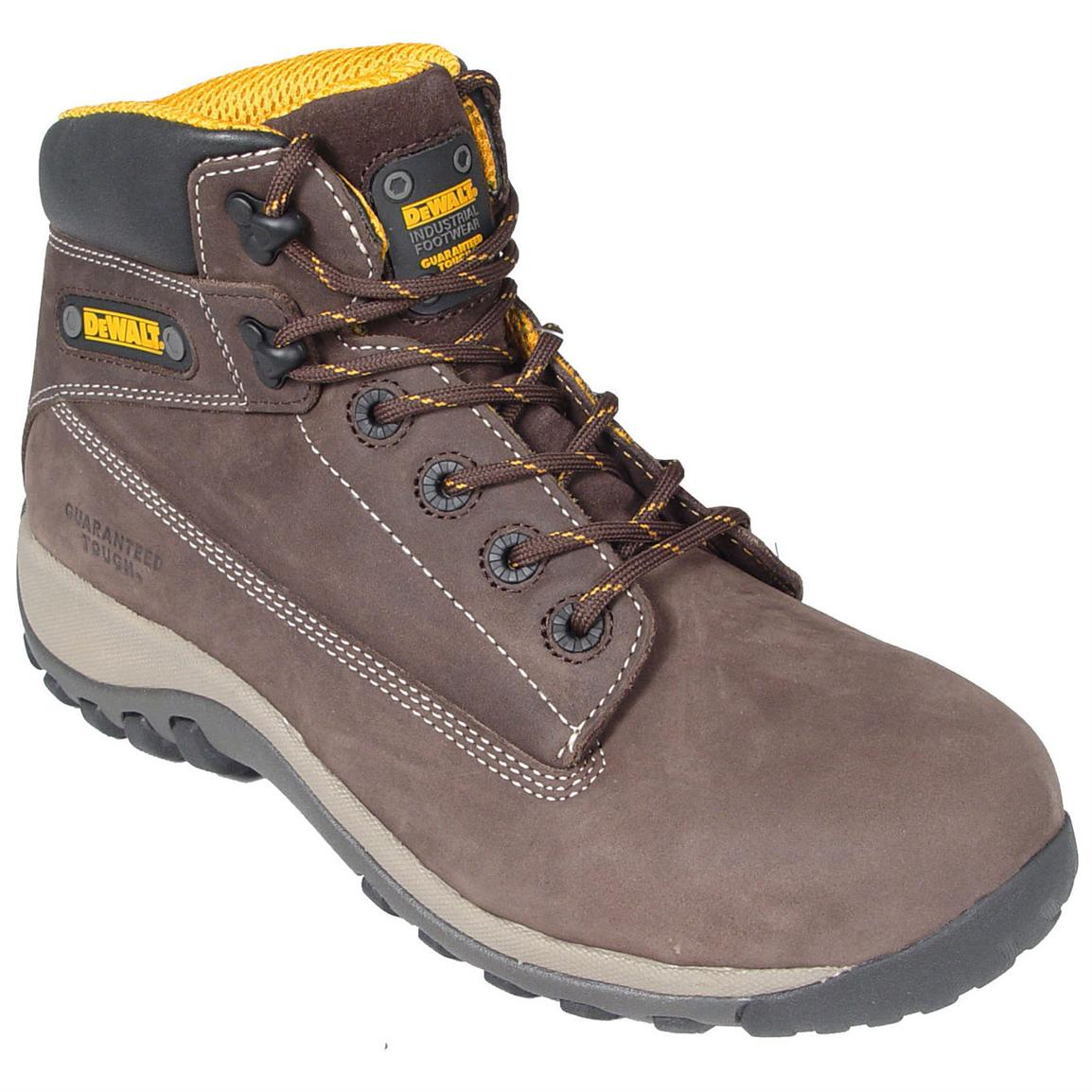Men's DeWalt® Hammer™ Heavy-duty Steel Toe Work Boots, Brown