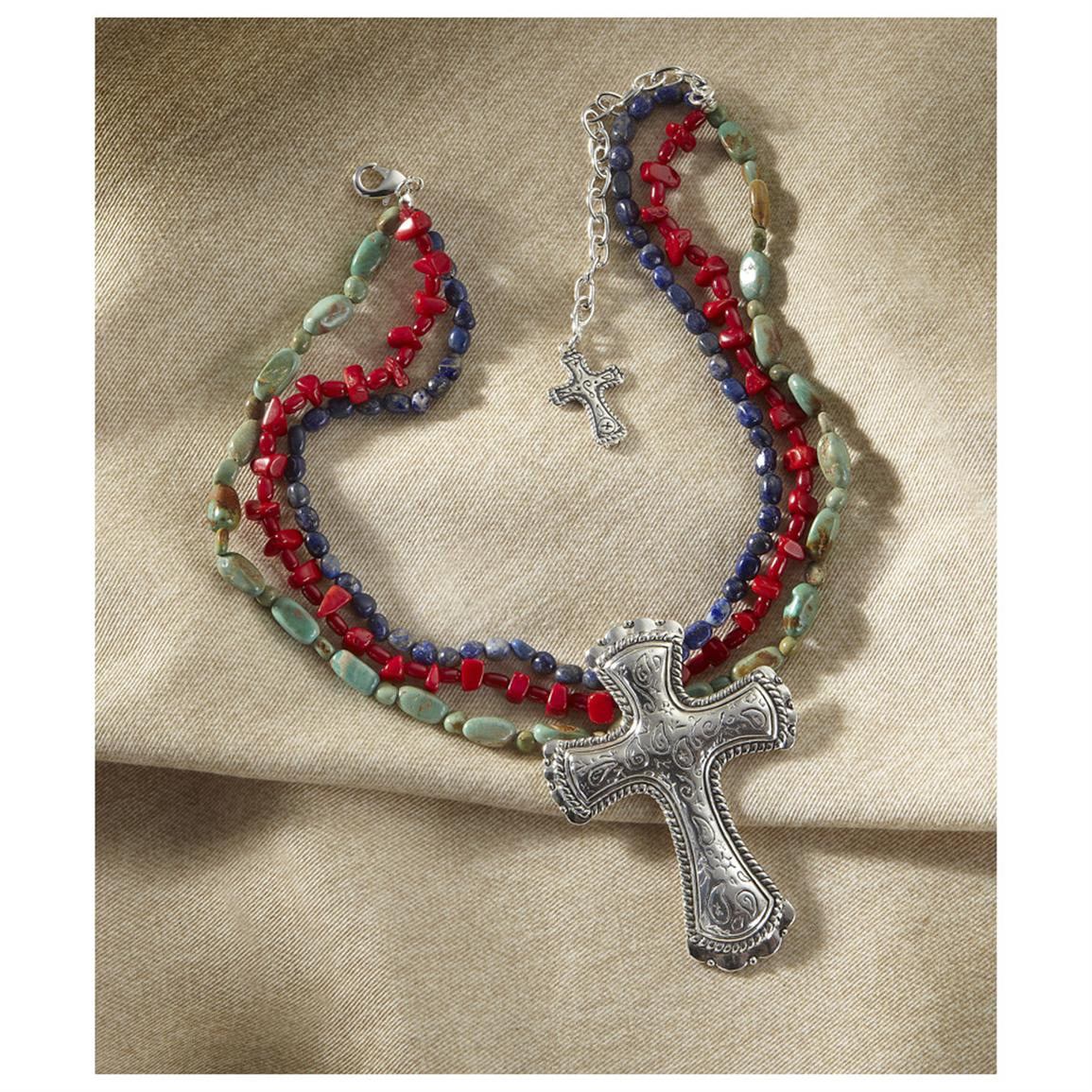 Montana Silversmiths® Cross Necklace