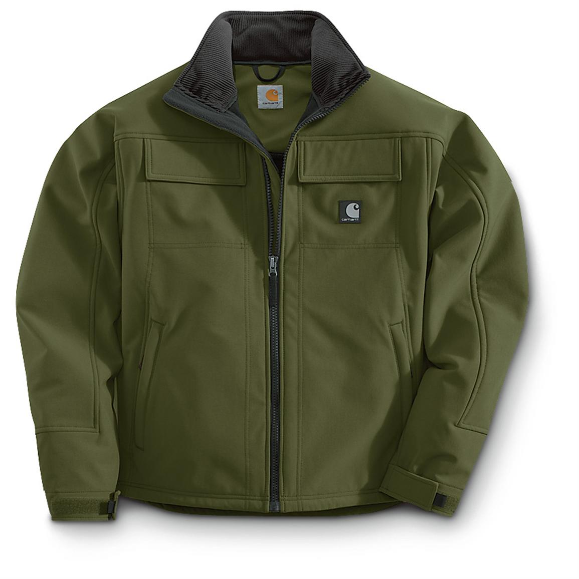 Carhartt® Traditional Softshell Work Clothes Jacket, Olive