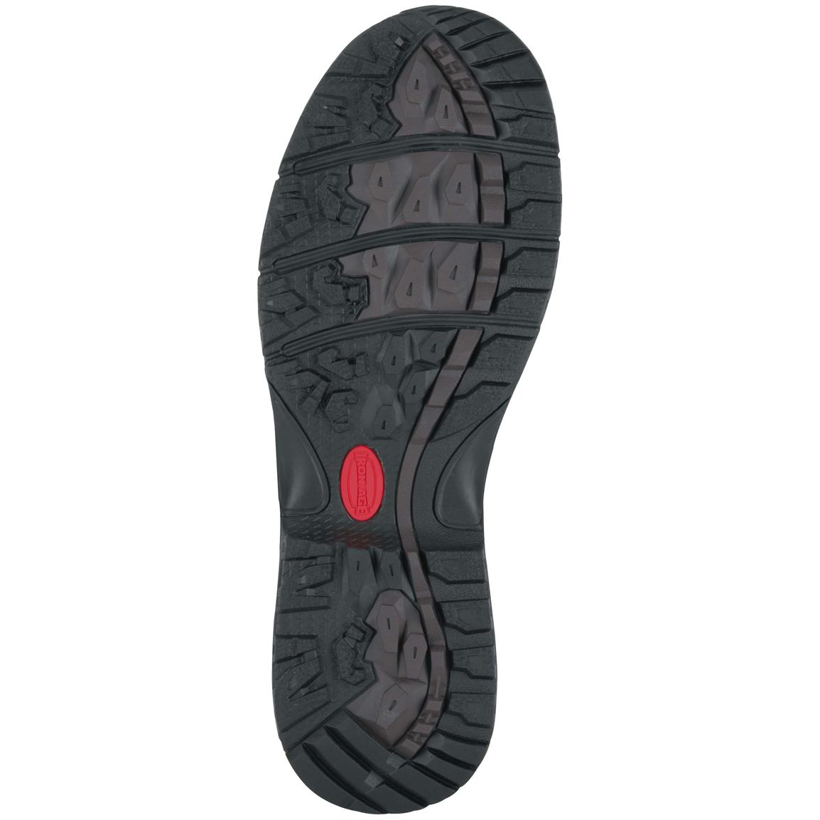 Rubber traction outsole