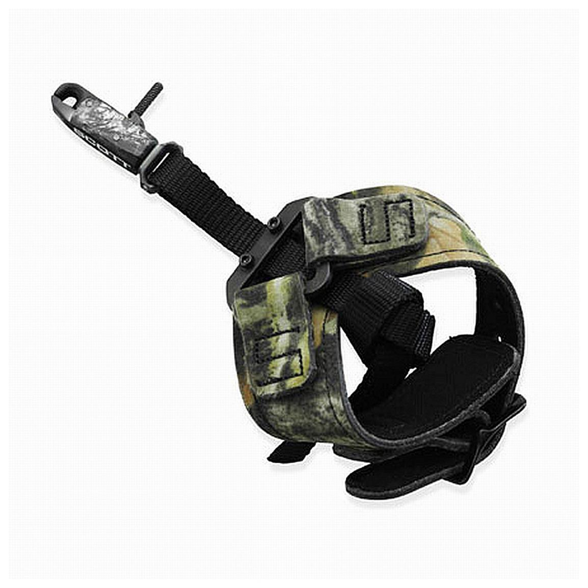 Scott Archery™ Little Bitty Goose Release with Buckle, Camo