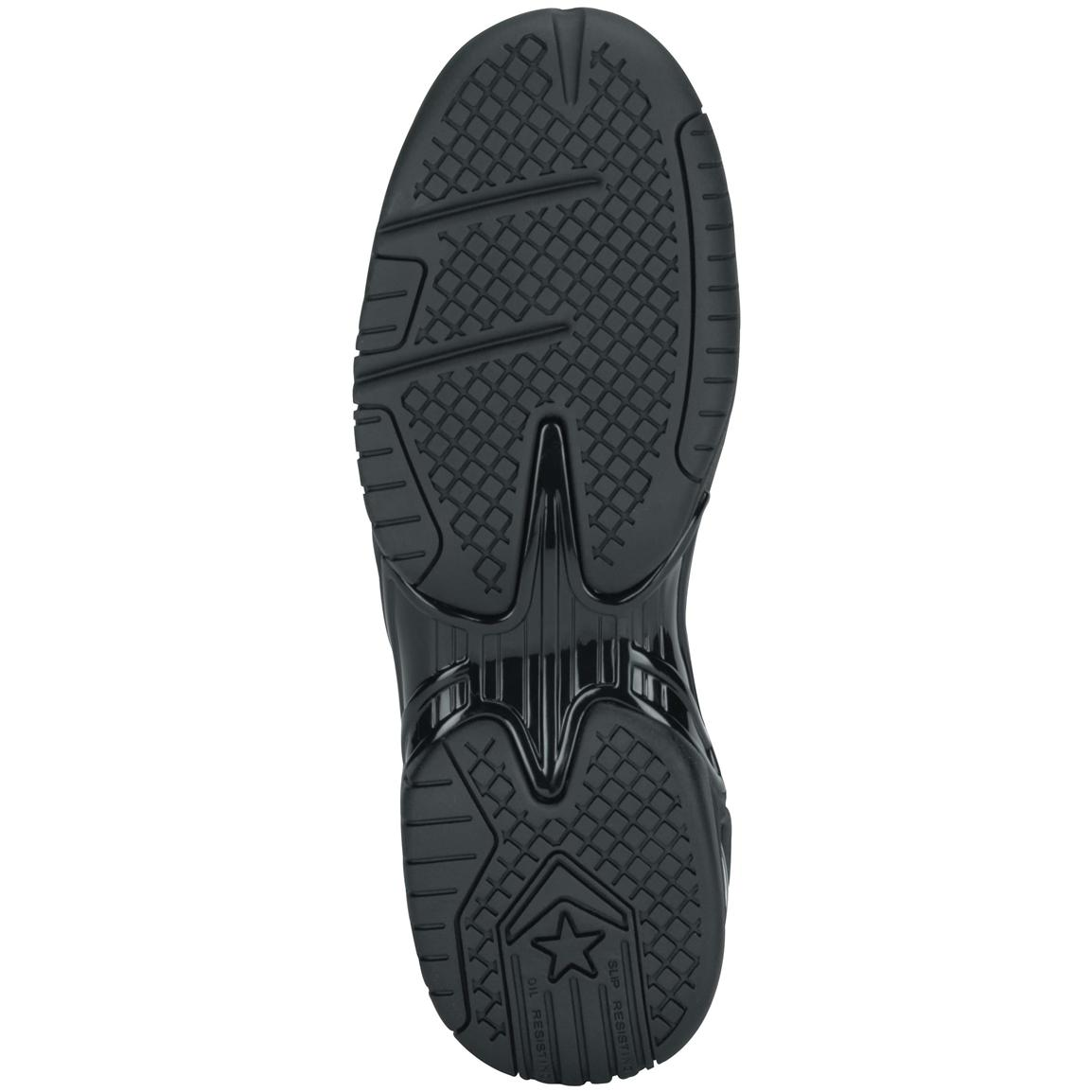Dual density rubber outsole