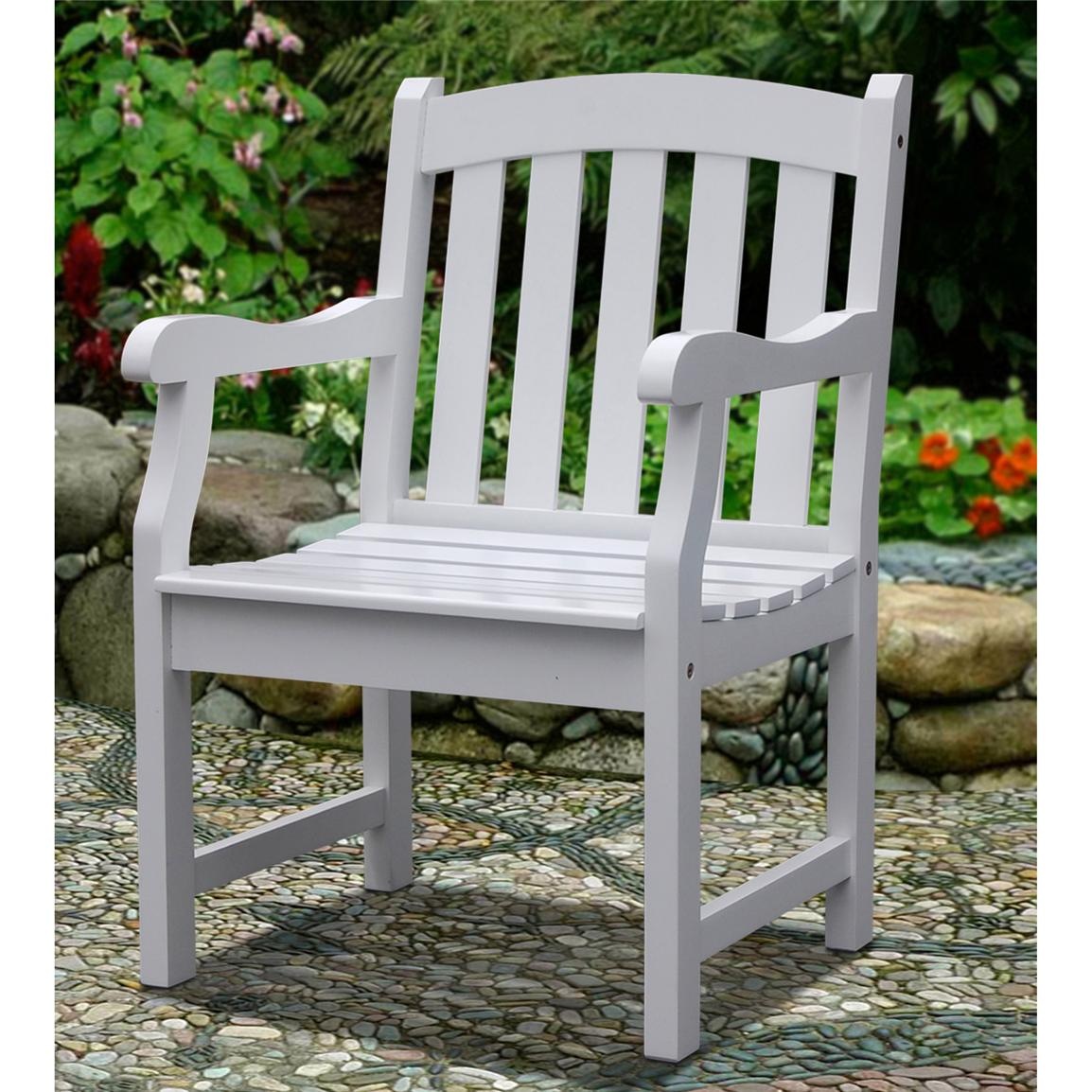 Bradley V1339 Outdoor Wood Armchair