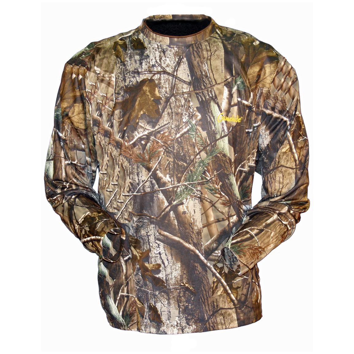 Men's Gamehide® Elimitick Long-sleeve Camo Tech Shirt