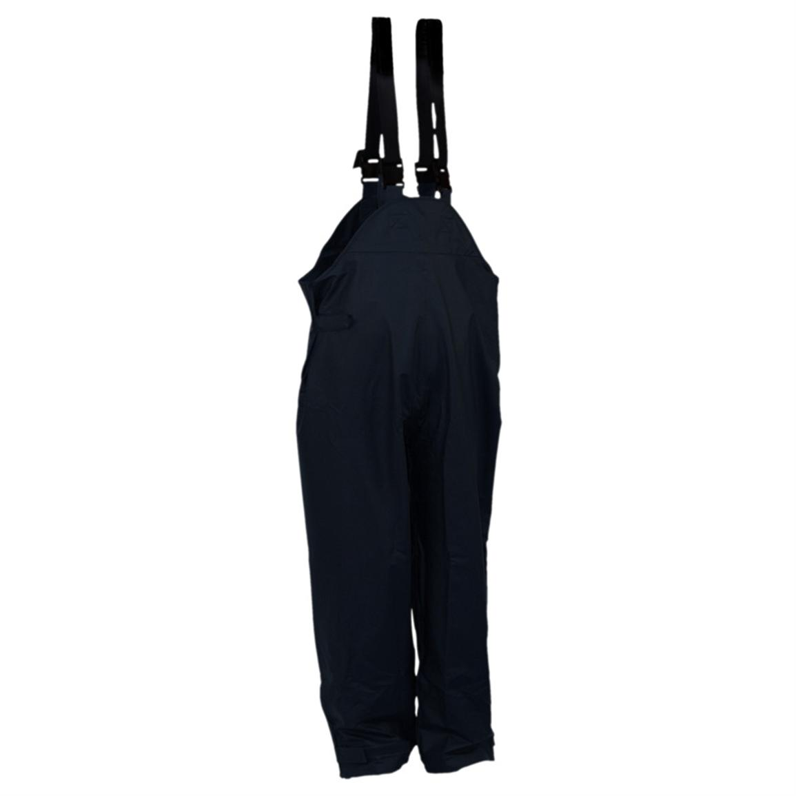 Men's WATERPROOF StormHide Down Pour Bibs from Gamehide, Navy