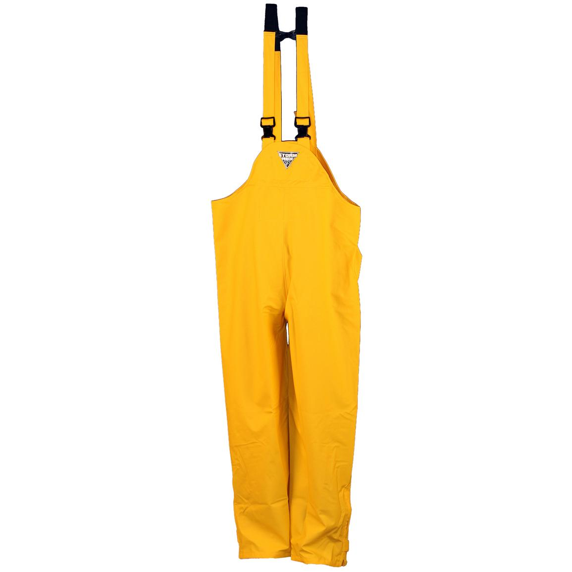 Men's WATERPROOF StormHide Down Pour Bibs from Gamehide, Yellow