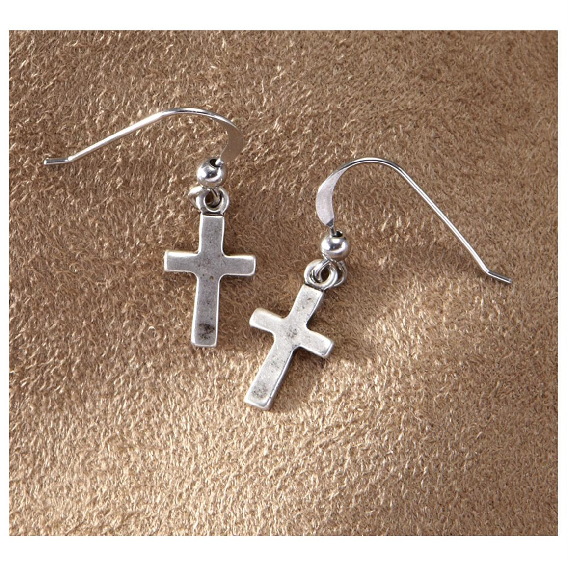 "Big Sky Silver ""My Rock"" Earrings"