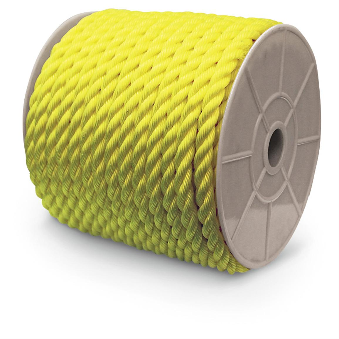 Rope King® 1,200-ft. Twisted Poly Rope, Yellow