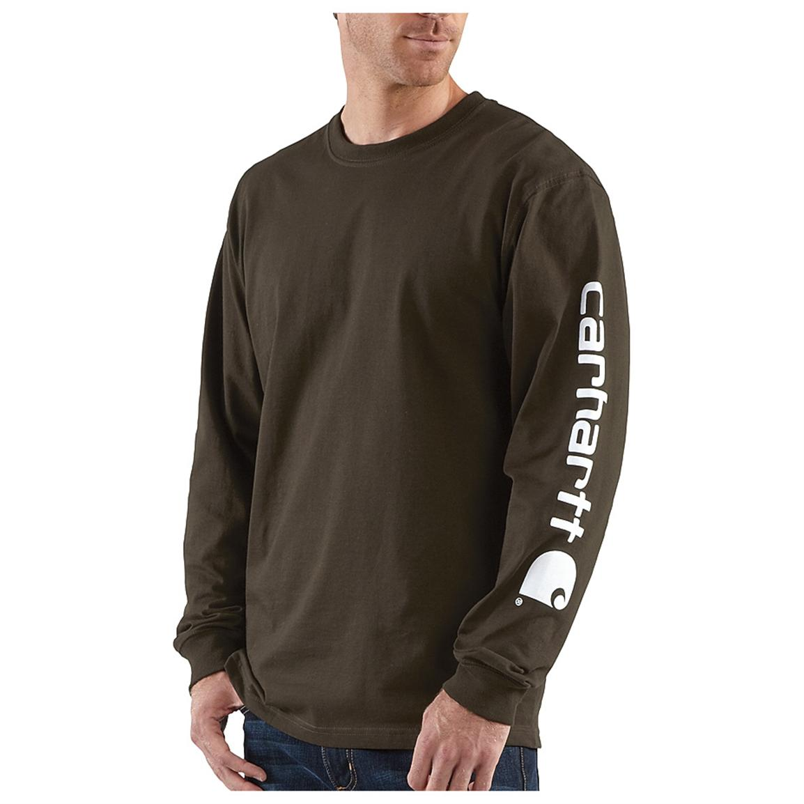 Men's Carhartt® Long-sleeve Logo T-Shirt