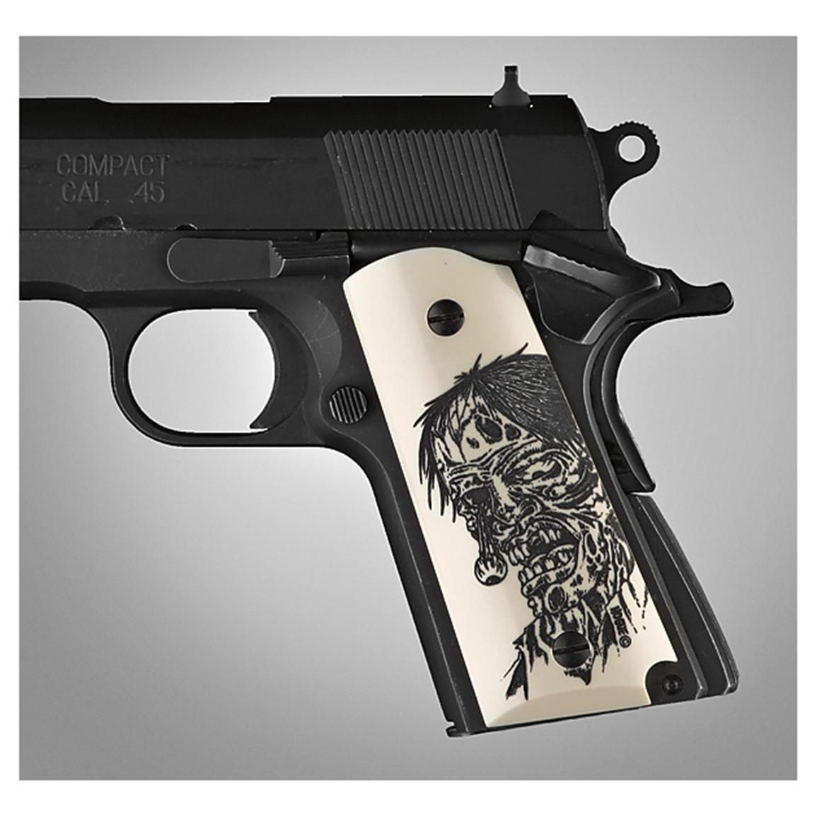 Hogue® 1911 Ivy Poly Zombie Grips
