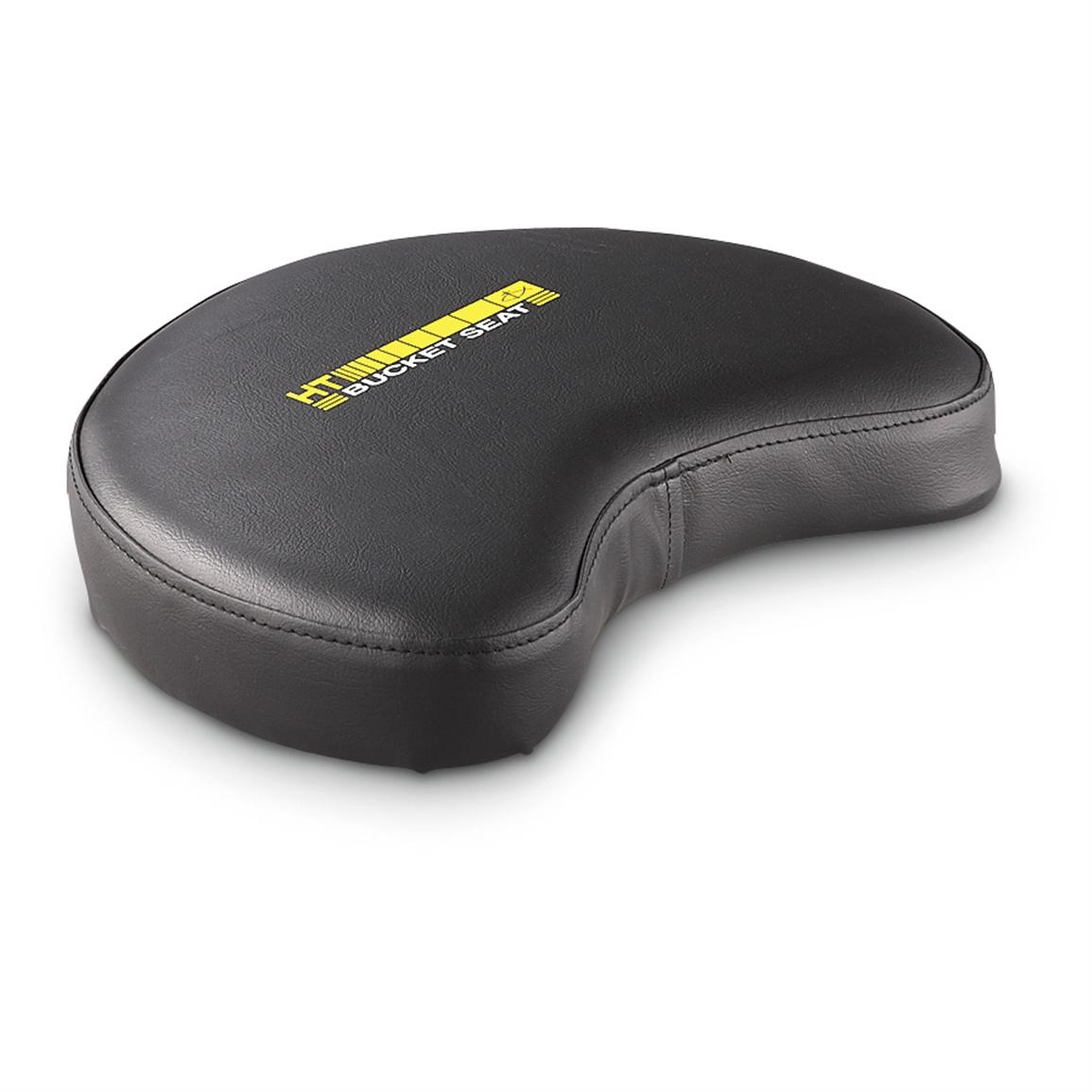 ht padded bucket seat 233145 ice fishing gear at