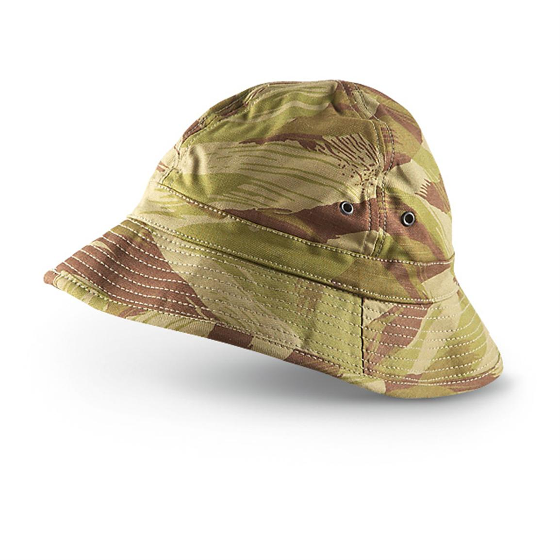 Military-style Boonie Hat, French Indochina Camo