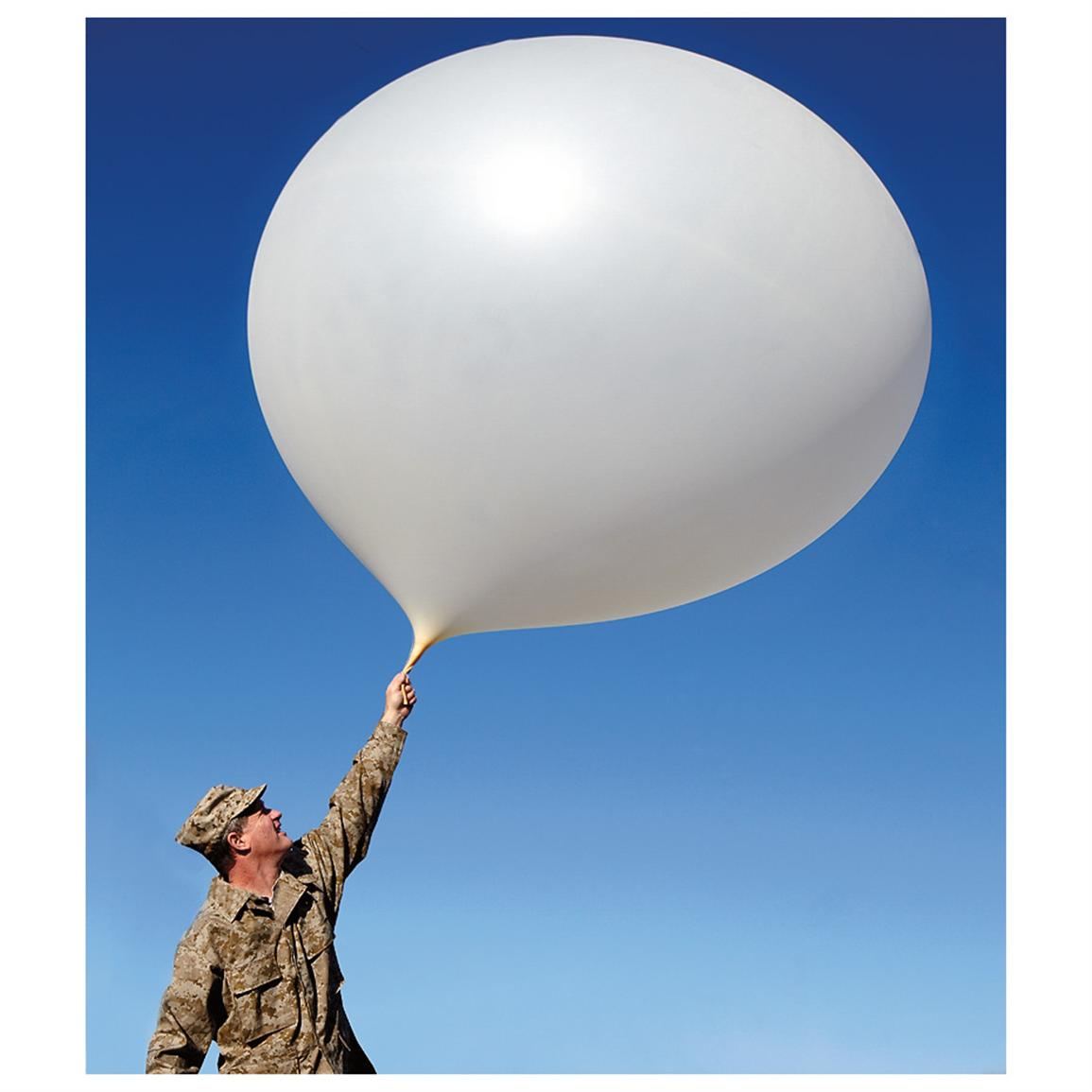 New U.S. Military 12 foot diam.Weather Balloon