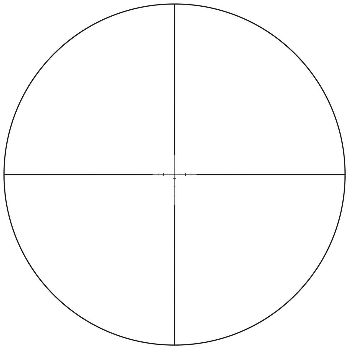 Dead-Head BDC Reticle