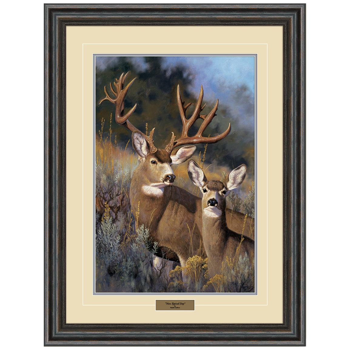 """Non-Typical Day"" Framed Print from Reflective Art®, 22x30"""