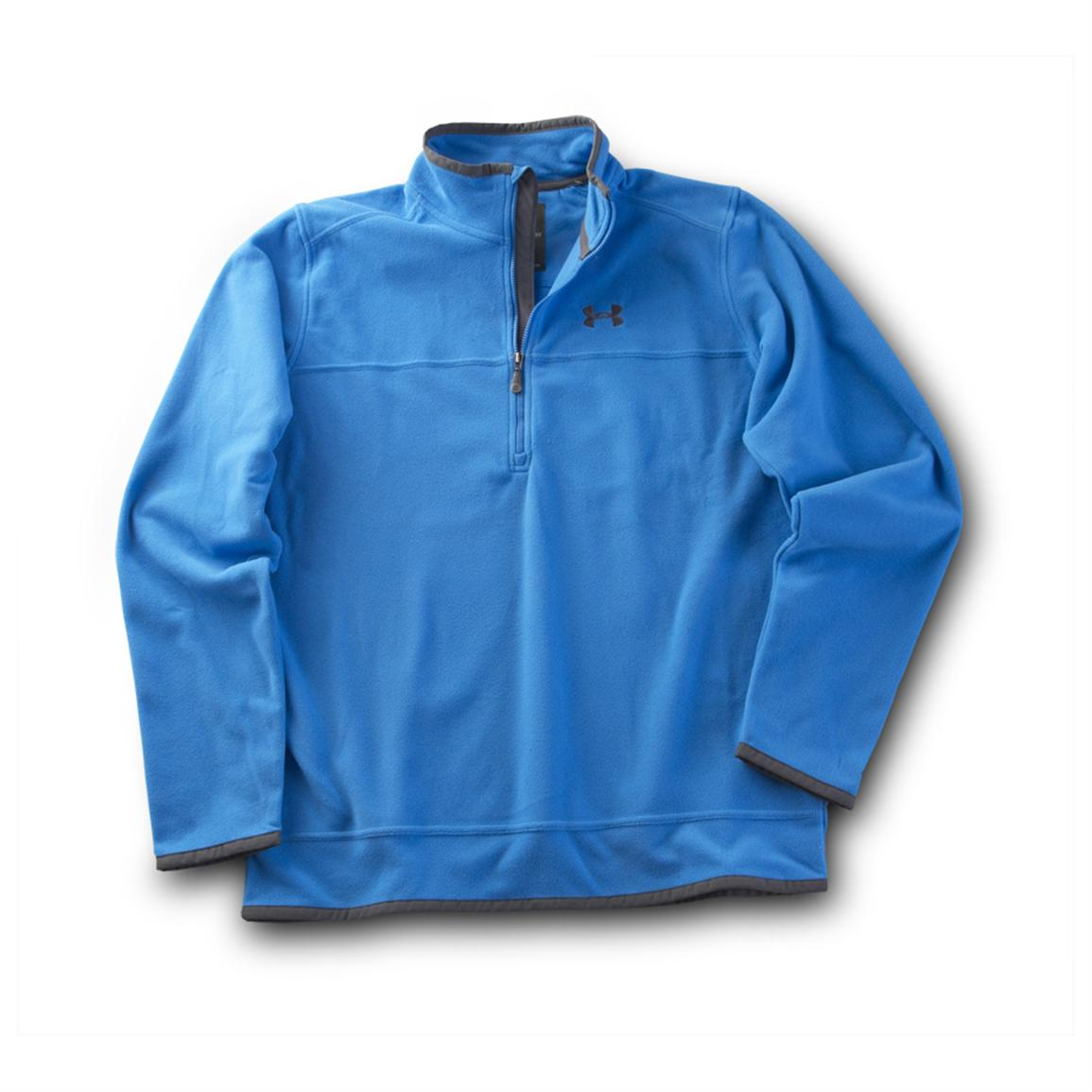 Under Armour® Furrow 1/4-zip Pullover, St. Tropez