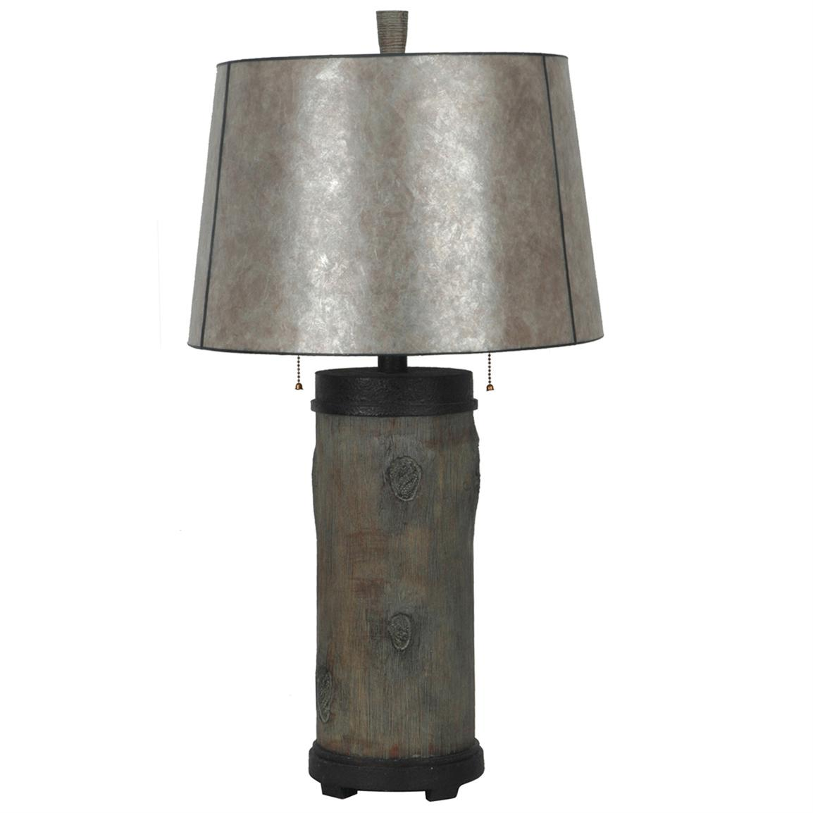 Rustic Log Table Lamp from Crestview Collection