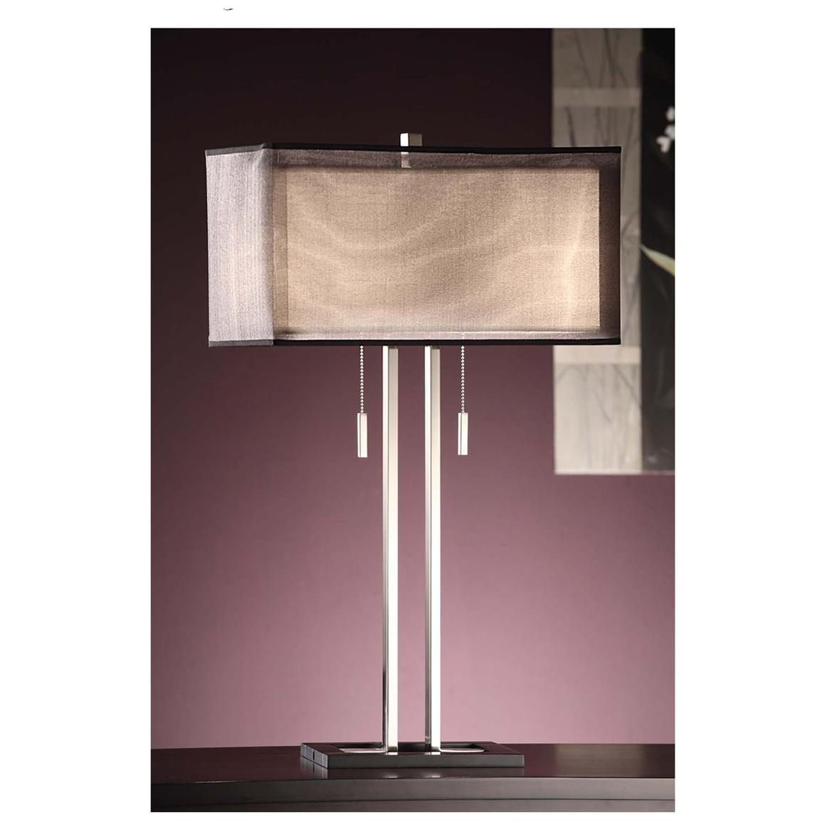 Altus Twin Light Table Lamp from Crestview Collection