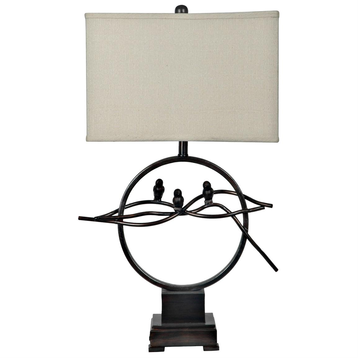 Song Bird Table Lamp from Crestview Collection
