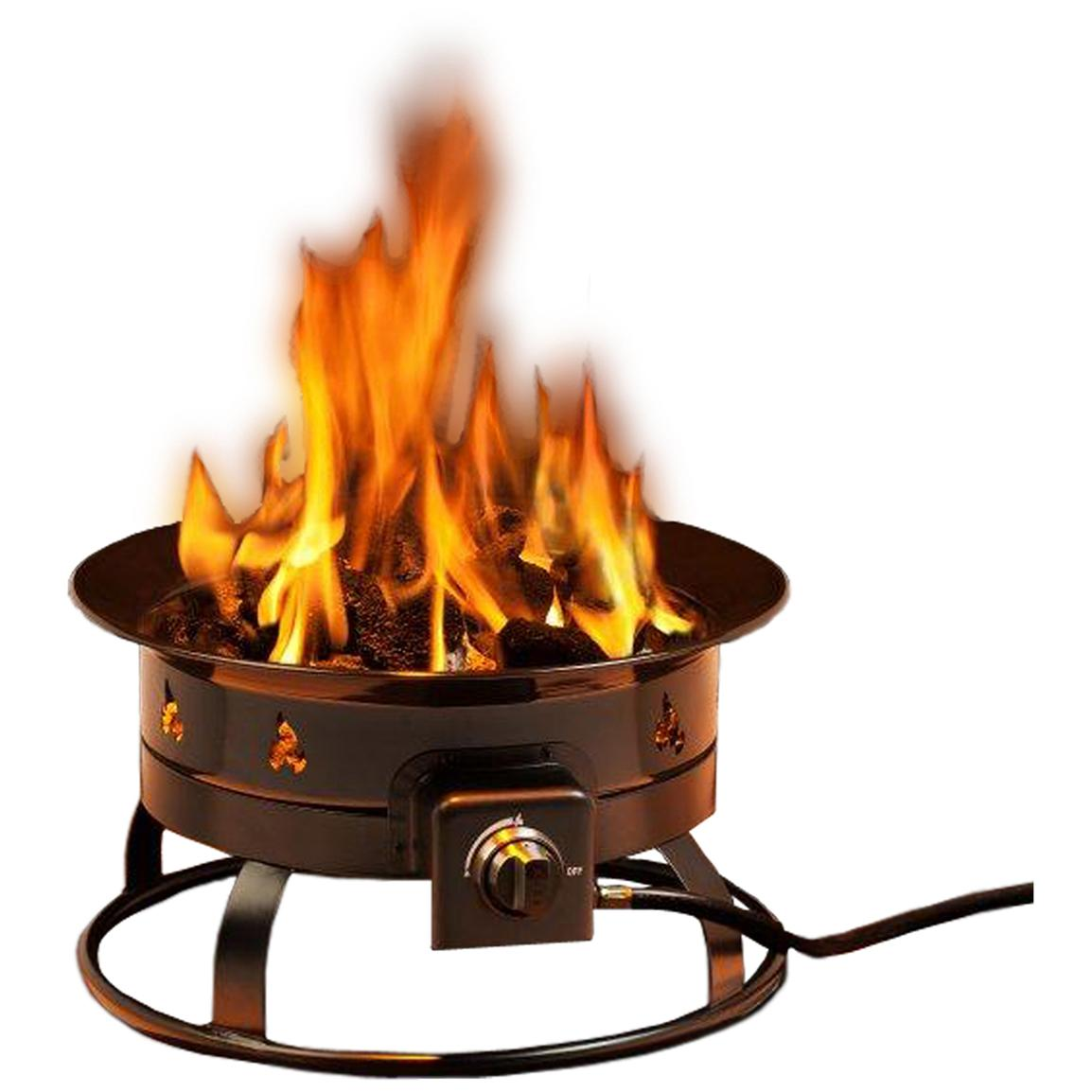 Heininger™ Portable Propane Outdoor Fire Pit - 233453 ...