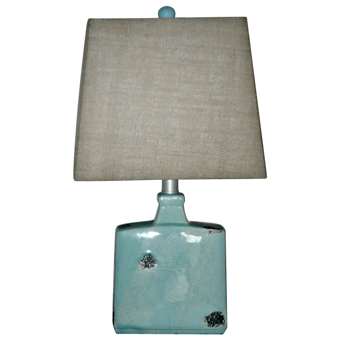 Crestview® Blues Pottery Table Lamp