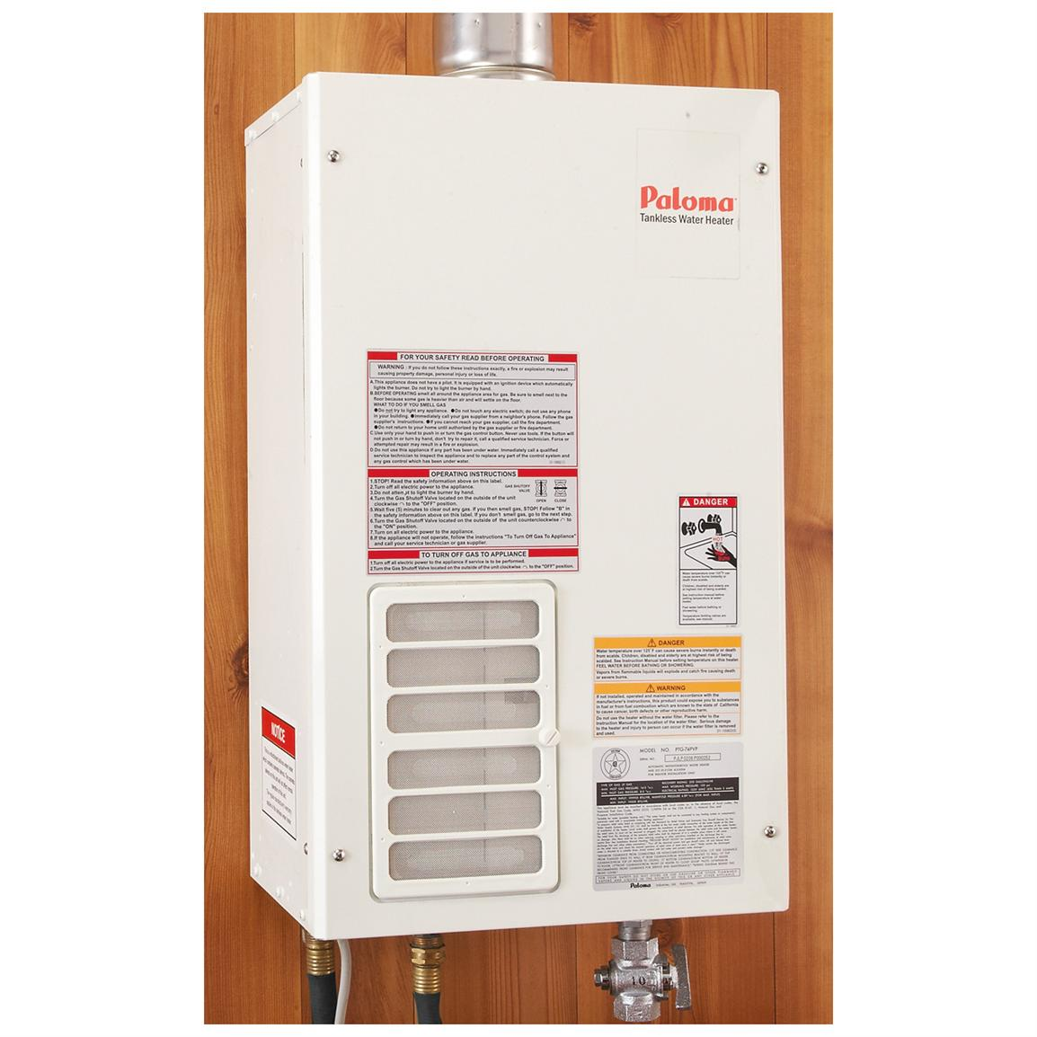 Paloma 174 Tankless Water Heater 233529 Portable Toilets