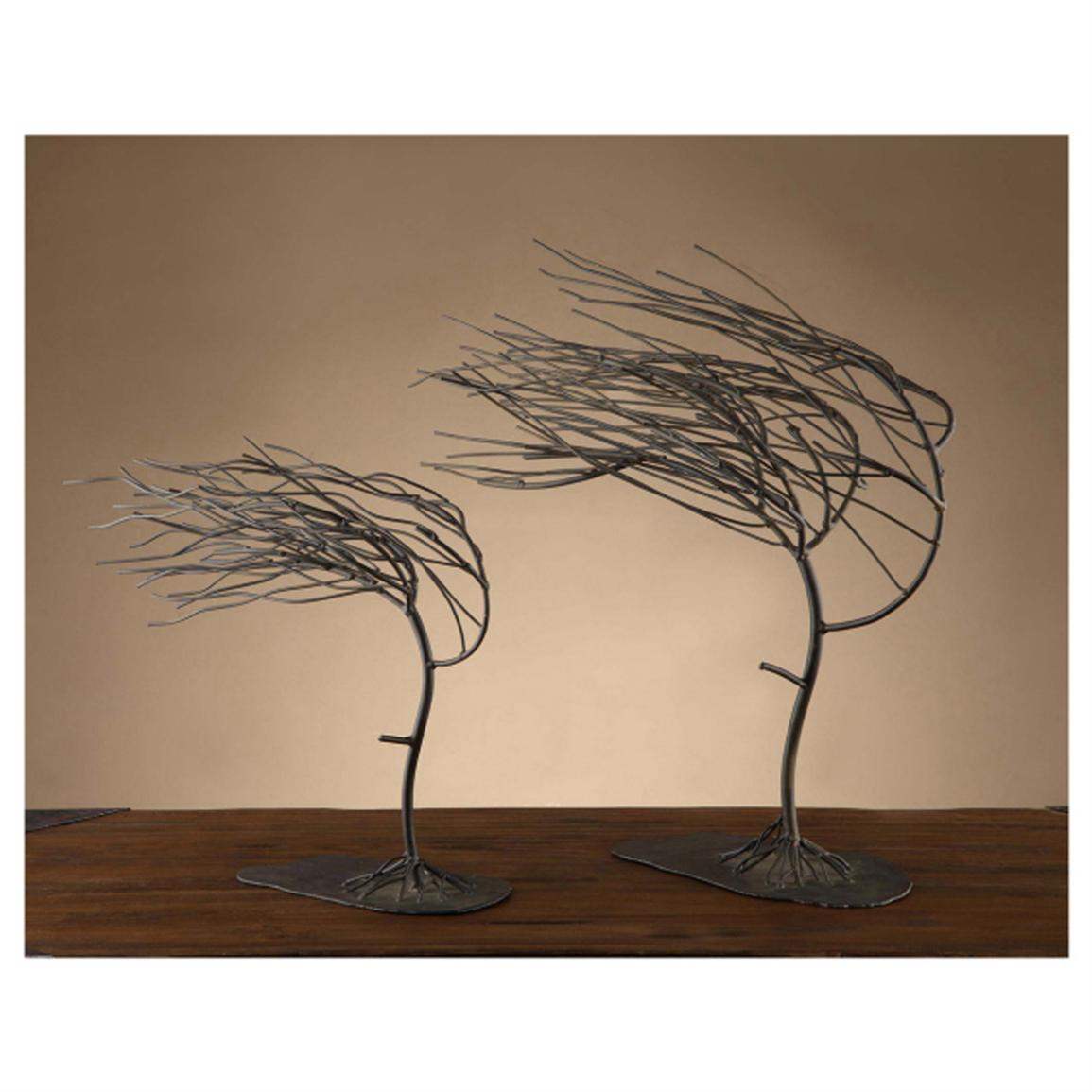 Crestview Windy Woods Tree Sculptures, Set of 2