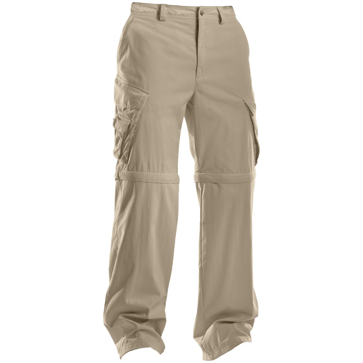 Men's Under Armour® Zip-off Trail Pants, Uniform