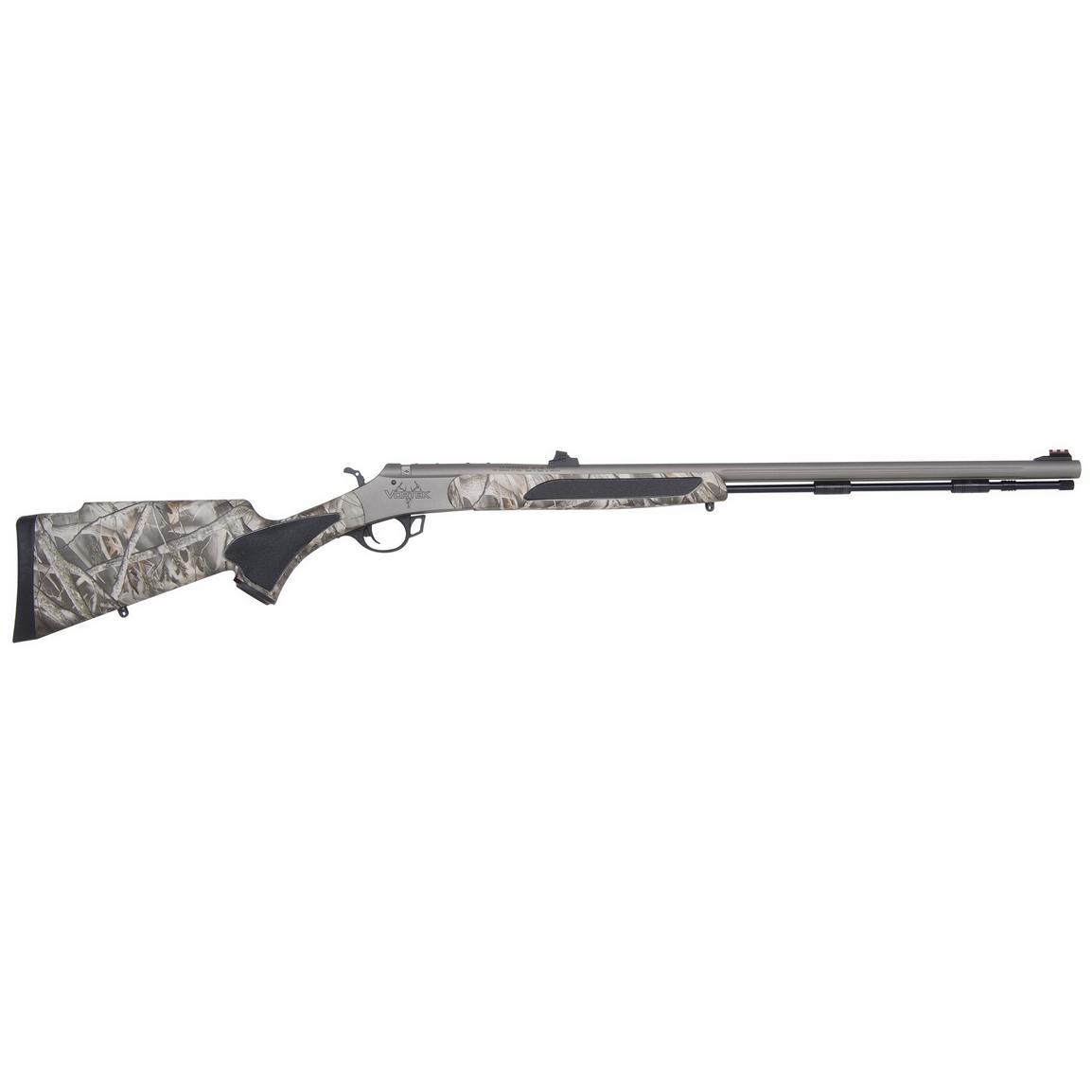 Traditions™ Vortek™ Ultralight .50 Cal. Reaper Buck Camo Black Powder Rifle with Williams™ Fiber Optic Sights