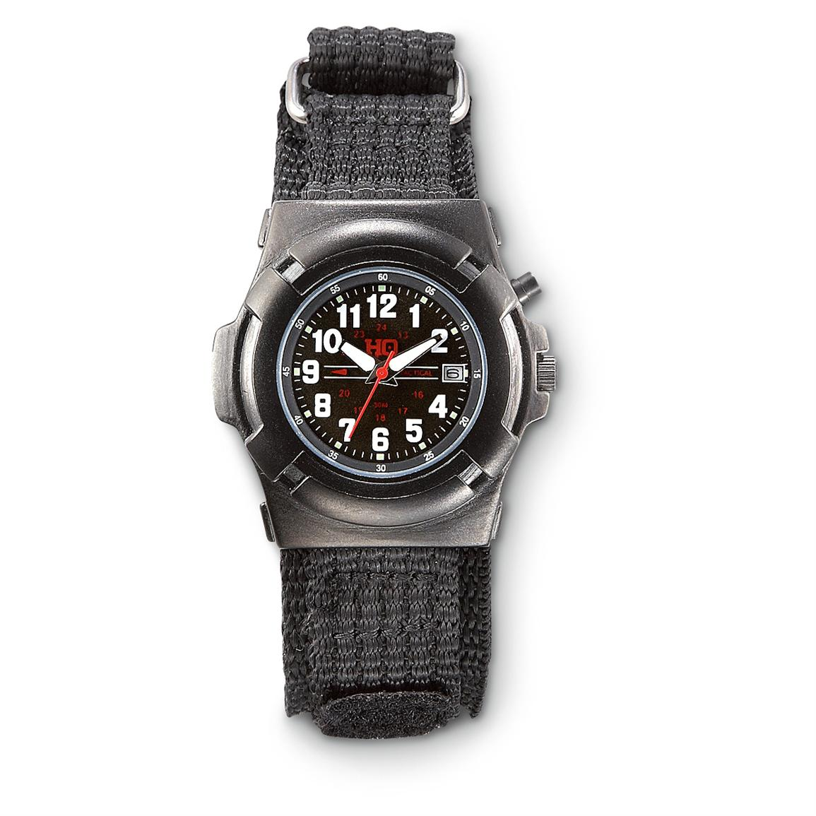 HQ ISSUE Tactical Watch, Black