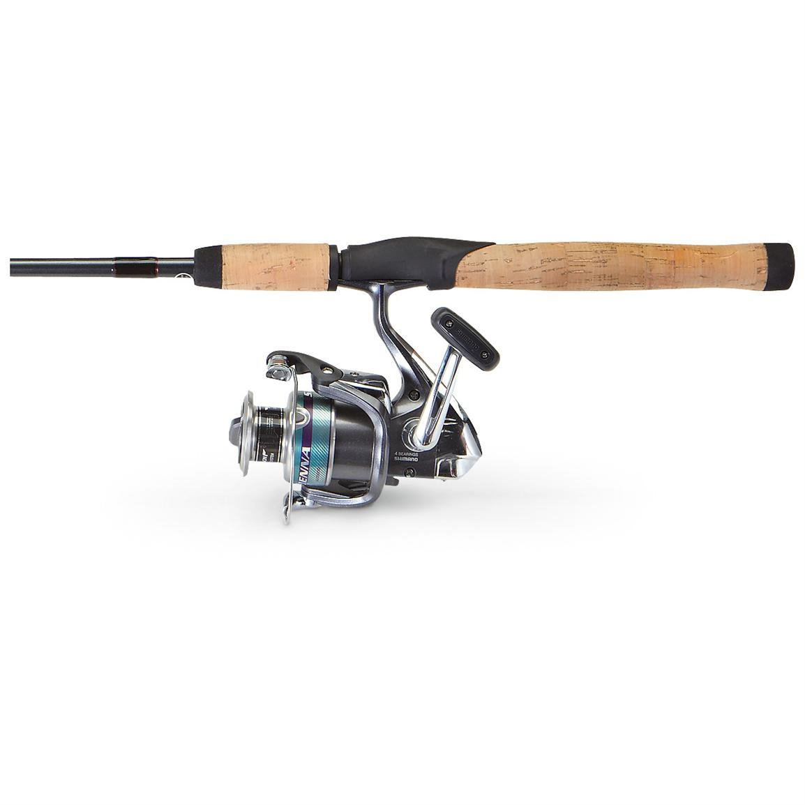 Shimano® Sienna / Scabbard Spinning Combo