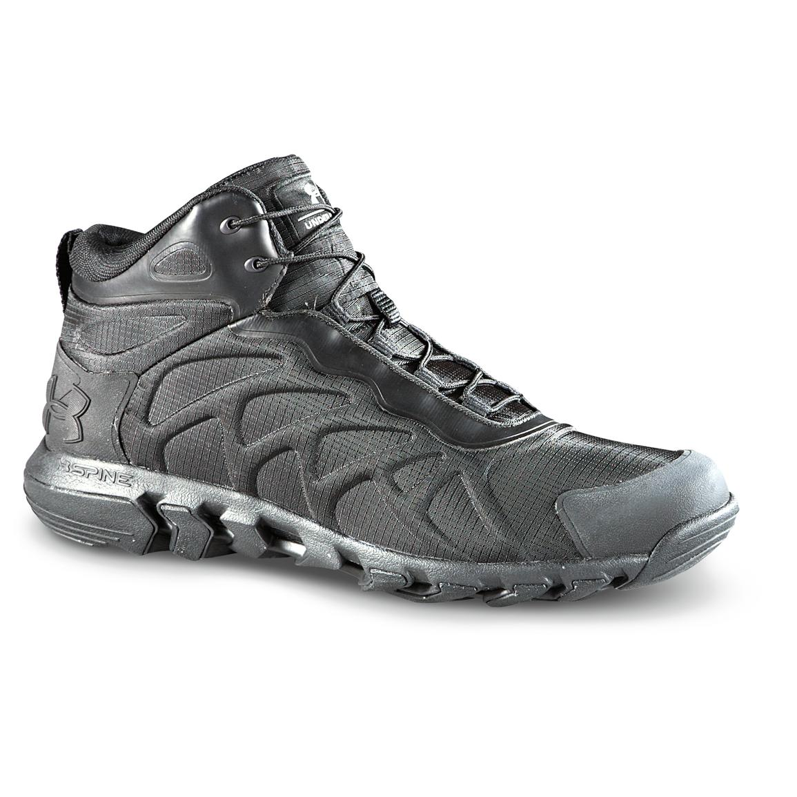 Men 39 s under armour valsetz ii venom boots 234190 hiking for Under armour fishing shoes