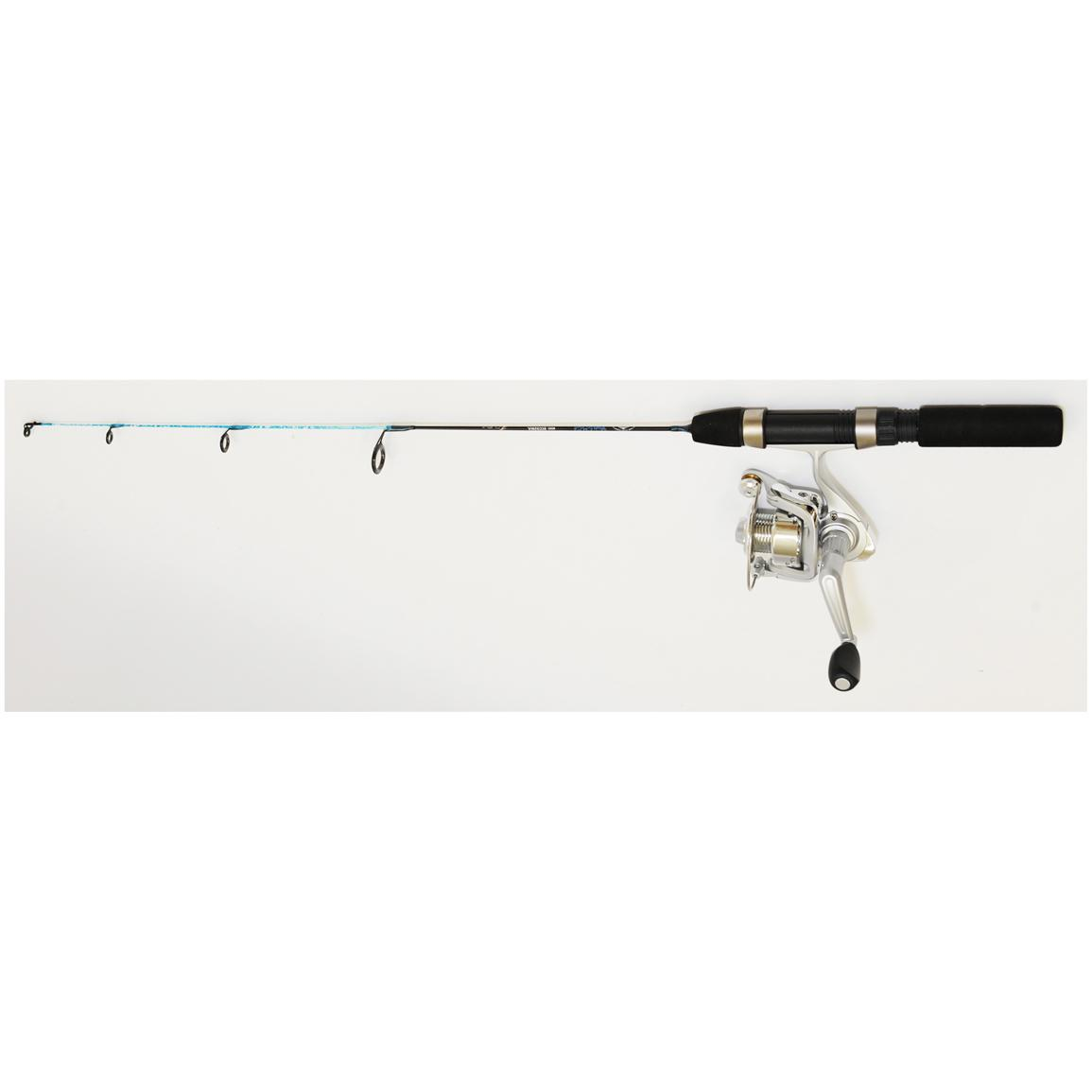Eagle Claw® Cold Smoke Ice Fishing Spinning Rod & Reel Combo