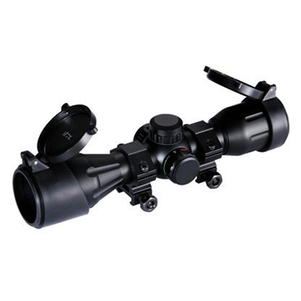 Carbon Express® 1.5-5x32mm Illuminated Reticle Crossbow Scope