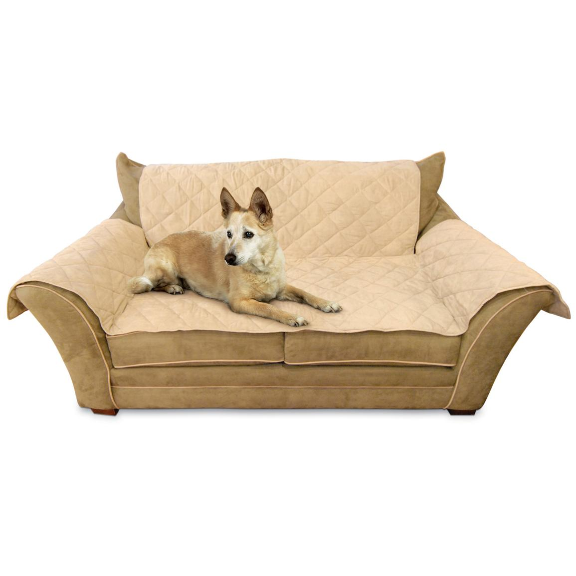 K&H Pet Products Furniture Cover™, Tan - Loveseat